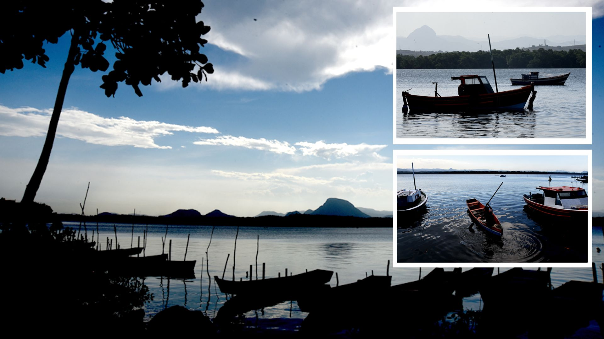 Data: 22/05/2020 - ES - Vitória - Pescador da Ilha das Caieiras, em Vitória - Editoria: Cidades - Foto: Ricardo Medeiros - GZ
