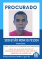 Sebastião Nonato Pessoa: tem mandado de prisão em aberto por feminicídio