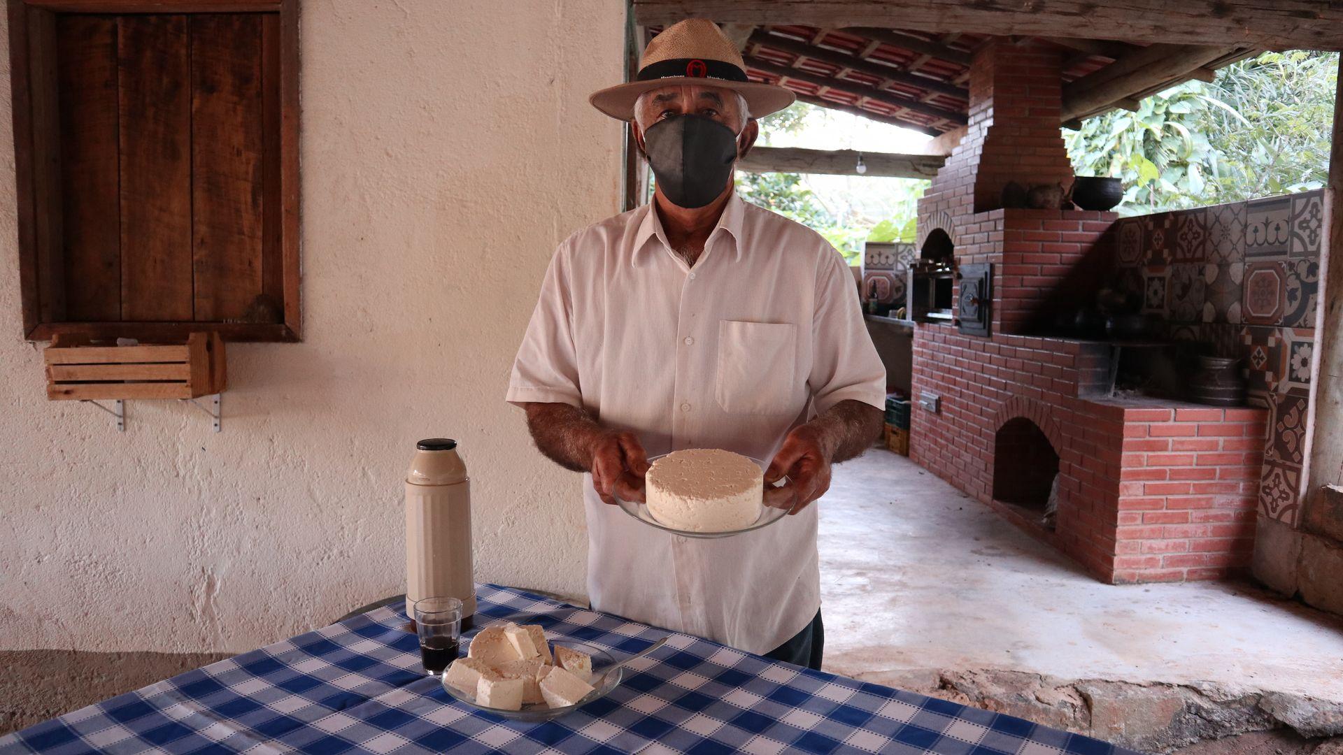 José Miguel Fonseca, produtor artesanal de queijo
