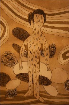 Obra de Augusto Herkenhoff exposta na mostra
