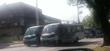 Protesto dos rodoviários deixa trânsito lento em frente à prefeitura de Vitória