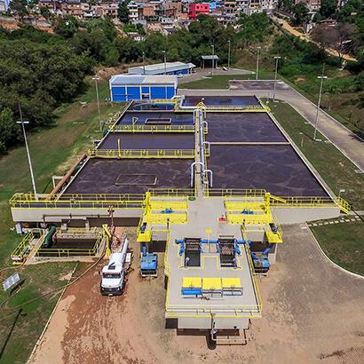 Estação de Tratamento de Esgoto (ETE) Bandeirantes, em Cariacica, será ampliada