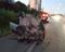 Um carro colidiu na traseira de outro veículo, capotou e deixou um ferido na Rodosol neste domingo (21). Crédito: Internauta