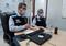 Nésio Fernandes, secretário estadual de saúde, durante entrevista desta segunda-feira (22); ao lado, Luiz Carlos Reblin, subsecretário de vigilância em saúde. Crédito: Divulgação | Sesa