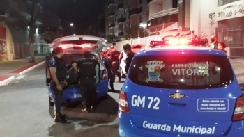 Abordagem a suspeito aconteceu na altura da Rua da Lama, em Jardim da Penha