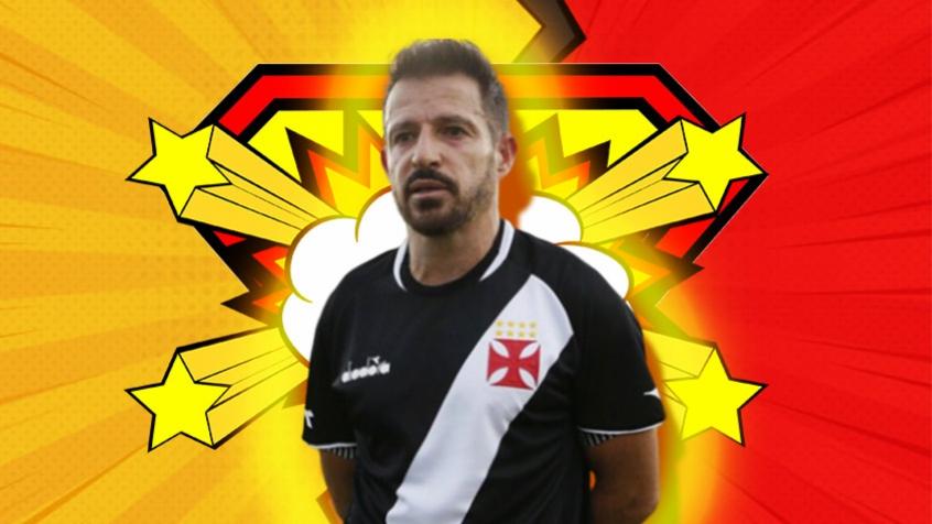 Crédito: Ramon Menezes fez história como jogador do Vasco, e inicia a trajetória como treinador com estilo próprio (Arte L!