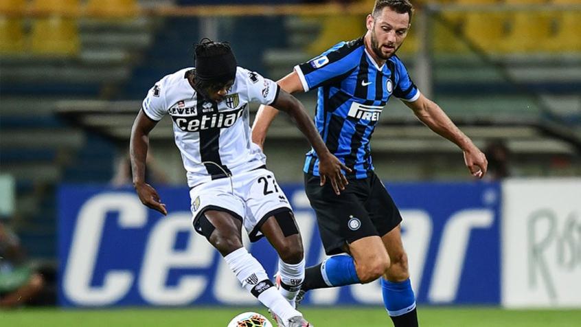 Crédito: Inter venceu Parma de virada nos últimos minutos de jogo (AFP