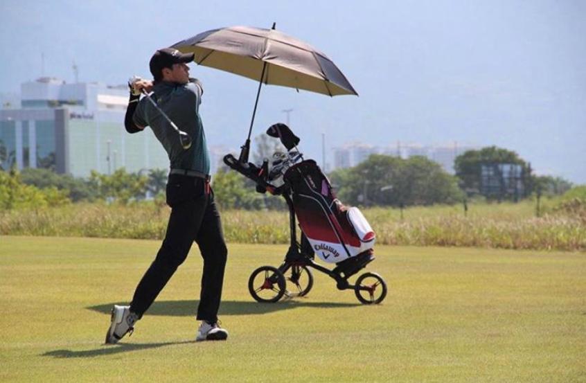 Crédito: Campo de golfe estará em atividade neste fim de semana (Divulgação