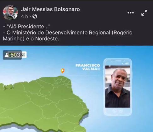 Propaganda do governo divulgada por Bolsonaro tem imagens de pessoas de banco de imagens, fazendo parecer que são brasileiros que conversam com ele
