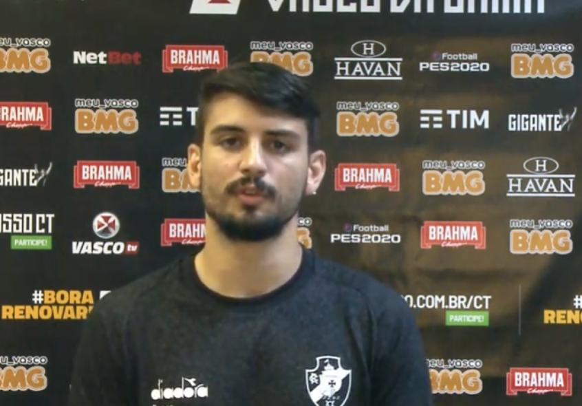 Crédito: Ricardo Graça está valorizado no mercado e, com Ramon Menezes, vai sendo titular (Reprodução / VascoTV