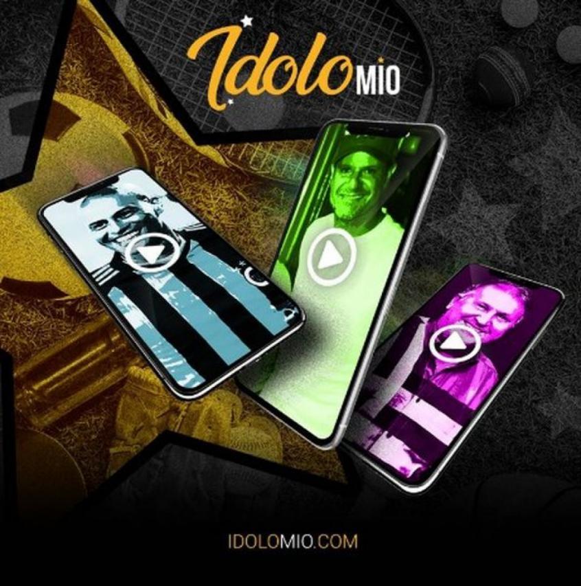 Crédito: IdoloMio é a nova plataforma para aproximar o fã de seu ídolo - Divulgação
