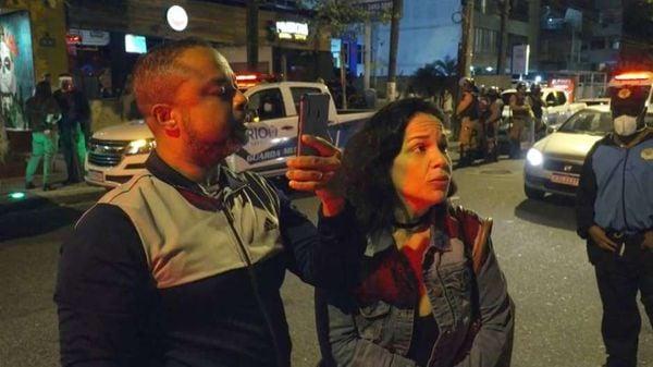 Mulher ofende fiscal da Prefeitura do Rio