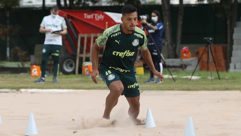 Crédito: Gabriel Menino destaca importância de treino físico para maratona de jogos no ano (Agência Palmeiras/Divulgação