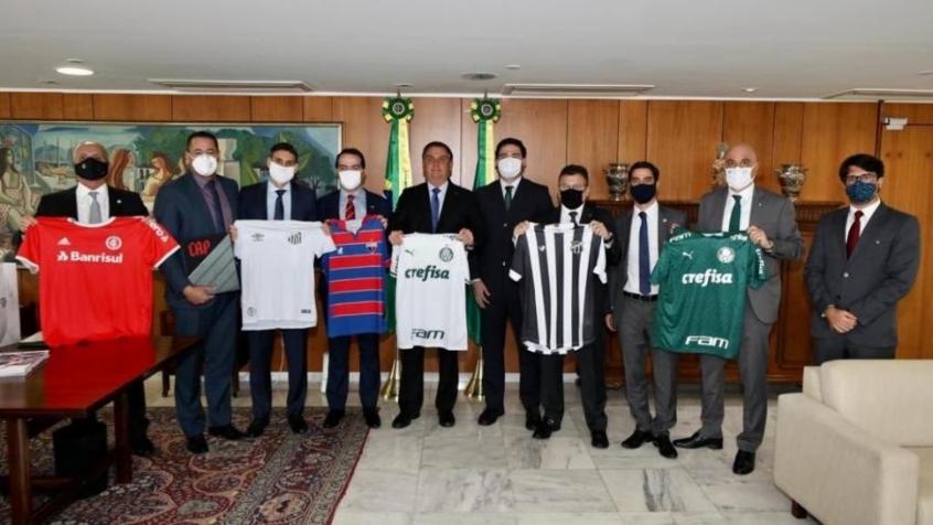 Crédito: Presidente do Palmeiras visitou Jair Bolsonaro há uma semana e resolveu fazer novo teste de COVID-19 (Reprodução