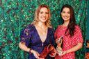 Daniela Calmon (morena) e Jussara Stellet (loira), sócias da Quinta Valentina, uma franquia para trabalhar em casa