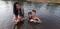 Jacieli e os três filhos. Daniel, 13 anos, Samuel 9 anos e Ana Valentina, de 2 anos. Crédito: Acervo Pessoal