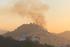 Incêndio foi registrado na tarde desta quinta-feira (9)