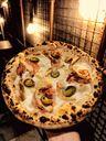 Pizza Chicken Jalapeño do King Kone Pizza Bar