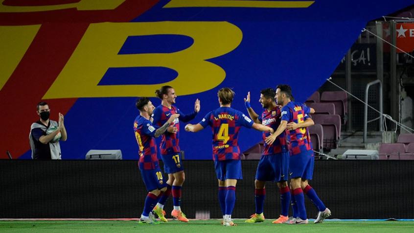 Crédito: Barcelona visita o Valladolid, mas segue de olho no Real Madrid e torce por tropeços do rival (AFP