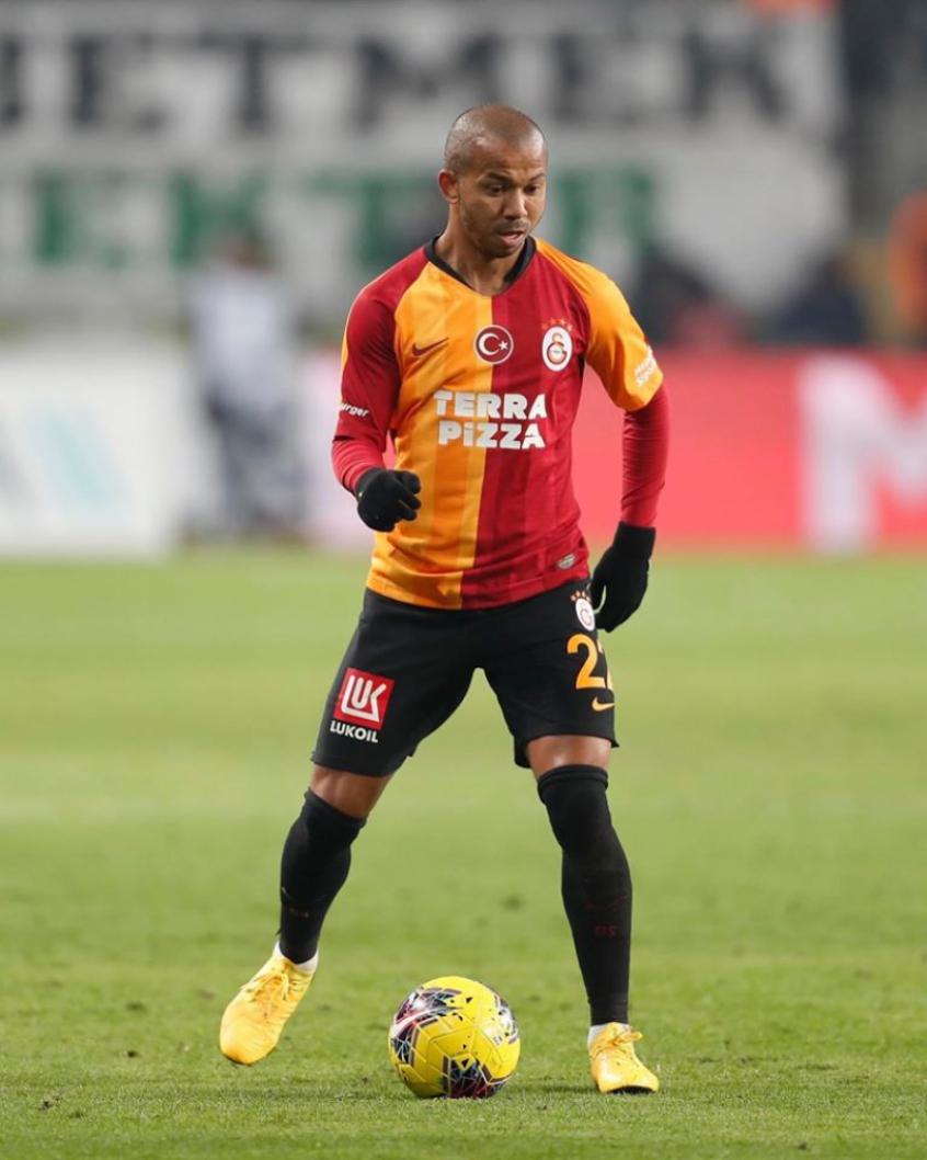 Crédito: Mariano viveu grande fase com a camisa do Galatasaray, na Turquia, mas quer voltar- (Galatasaray/Divulgação