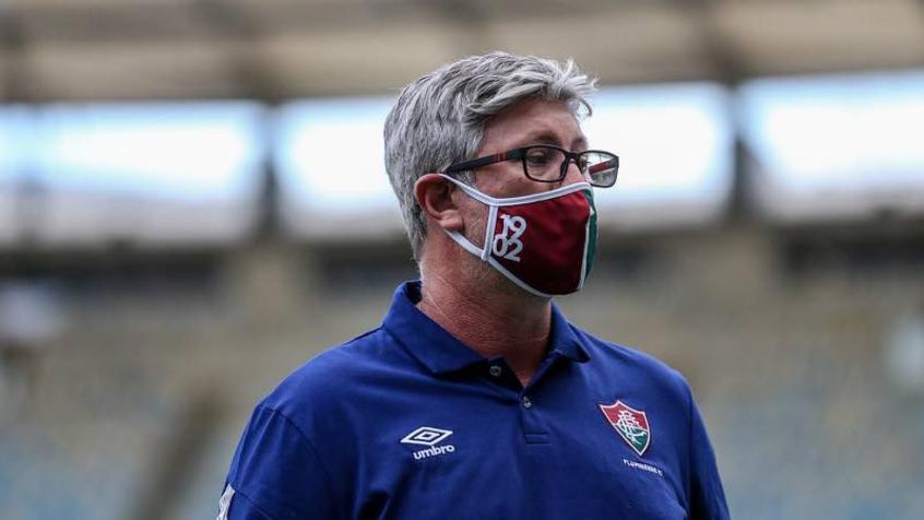 Crédito: Técnico do Flu vê briga pelo título em aberto (LUCAS MERÇON / FLUMINENSE F.C.
