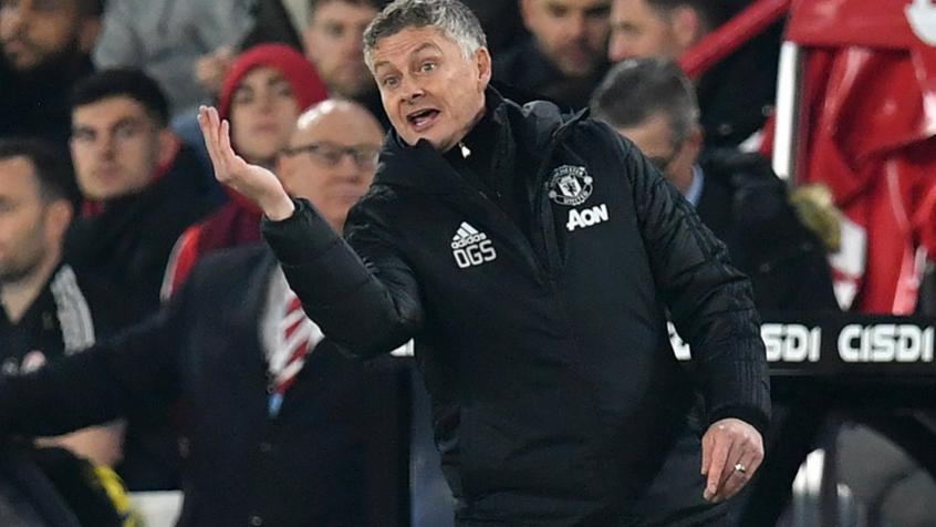 Crédito: Manchester United sofreu gol aos 50 minutos do segundo tempo contra o Southampton (PAUL ELLIS / AFP