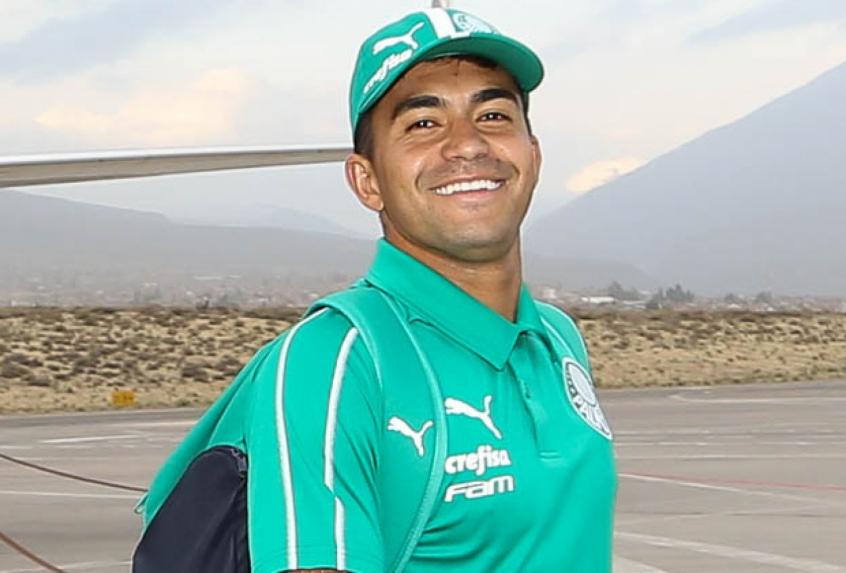 Crédito: Dudu tem desembarque previsto no Qatar na tarde desta quinta-feira, no horário de Brasília (Agência Palmeiras