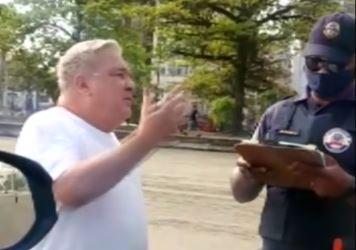 Desembargador de São Paulo Eduardo Almeida Prado Rocha de Siqueira gravado em vídeo ao chamar guarda civil de analfabeto ao ser multado por estar sem máscara