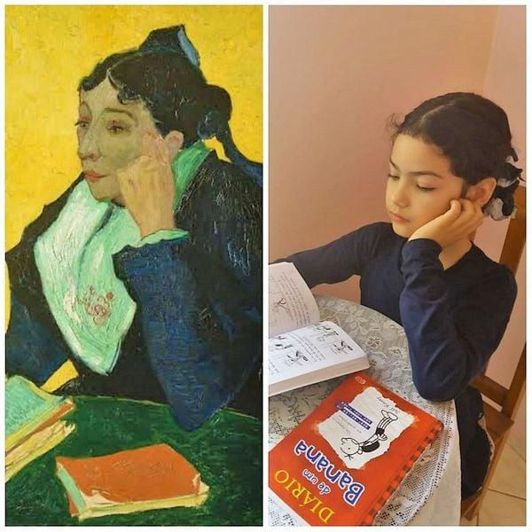 Estudantes de Guaçuí viram modelos de obras de arte famosas | A Gazeta
