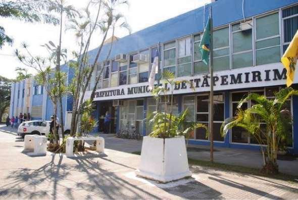Prédio da Prefeitura de Itapemirim, no Sul do Estado do Espírito Santo. Foto de dezembro de 2018