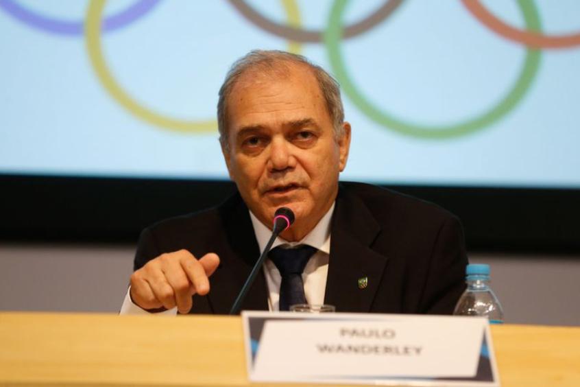 Crédito: Paulo Wanderley, presidente do COB, destacou a importância das ações virtuais para exaltar os feitos dos atletas pioneiros do Brasil em Olimpíadas (Crédito: Agência Brasil