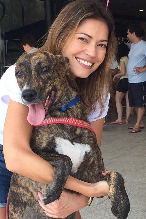 Marcelle Jório; adoção de animais