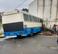 Ônibus perde o controle e atinge muro de igreja localizada no Bairro Vila Isabel, em Cariacica. Crédito: Ouvinte/ CBN