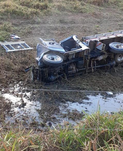 Três veículos se envolvem em acidente na rodovia ES 080 em Barra de São Francisco