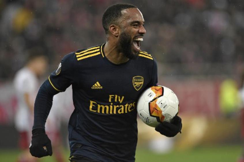 Crédito: Lacazette está no Arsenal desde 2017 (LOUISA GOULIAMAKI / AFP