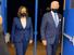Kamala Harris e Joe Biden, que buscam a presidência dos EUA