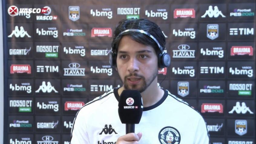 Crédito: Benitez agradece confiança de Ramon e diz estar adaptado ao Brasil - Reprodução / VascoTV