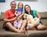 Arlys Souza e a esposa, Amanda, se revezam nos cuidados com a pequena Alana. Crédito: Acervo pessoal/ Arlys Souza