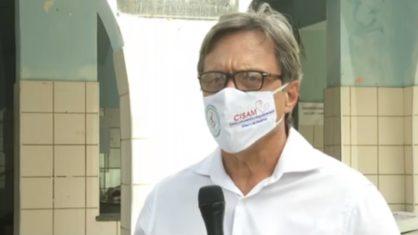O médico Olímpio Barbosa de Moraes Filho, gestor executivo do Centro Integrado de Saúde Amaury de Medeiros (Cisam), da Universidade de Pernambuco