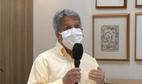 O médico pediatra Rodrigo Aboudib em entrevista à TV Gazeta nesta segunda-feira (17)