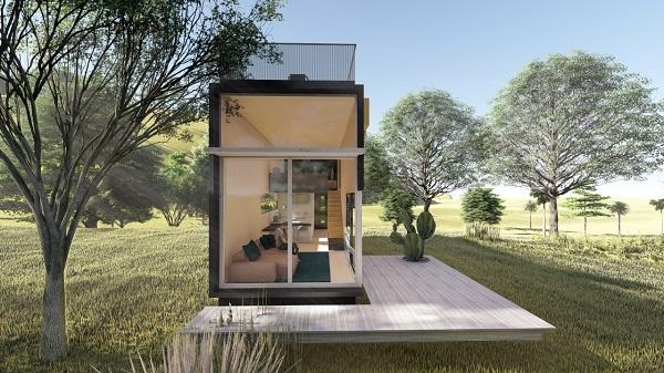 Projeto de casa do futuro da Capsu, um dos novos projetos do fundador do Picpay