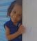 Esther, de 3 anos, foi picada por um escorpião na semana passada e está internada na UTI em Vitória. Crédito: Divulgação