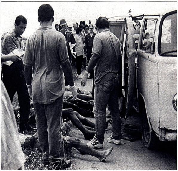 Chacina da Kombi em Viana, em 1997