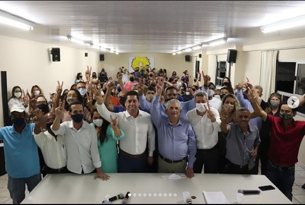 Convenção conjunta entre Podemos e republicanos em Cariacica
