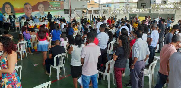 Convenção do PSB contou com a presença de quase 200 pessoas
