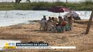 Após sumir, moradores comemoram volta de prainha em cidade do ES