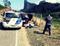 Suspeitos foram detidos em uma rodovia. Crédito: Divulgação/ PMES