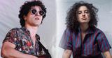 Os músicos João Felippe e Dora Morelenbaum