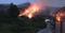 Fogo na localidade conhecida como São Francisco: chamas consumiram parte da vegetação. Crédito: Divulgação/ Bombeiros