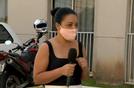 Vanessa Alves é moradora do prédio onde menina caiu do sexto andar